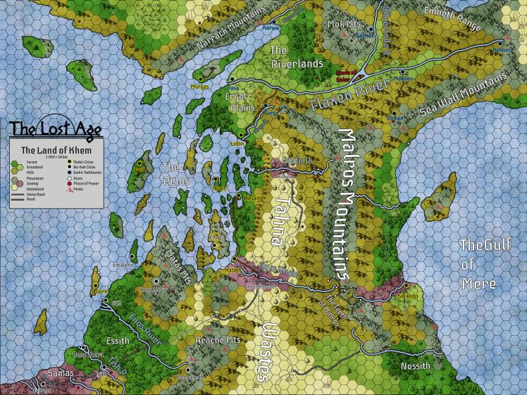 Khem Map